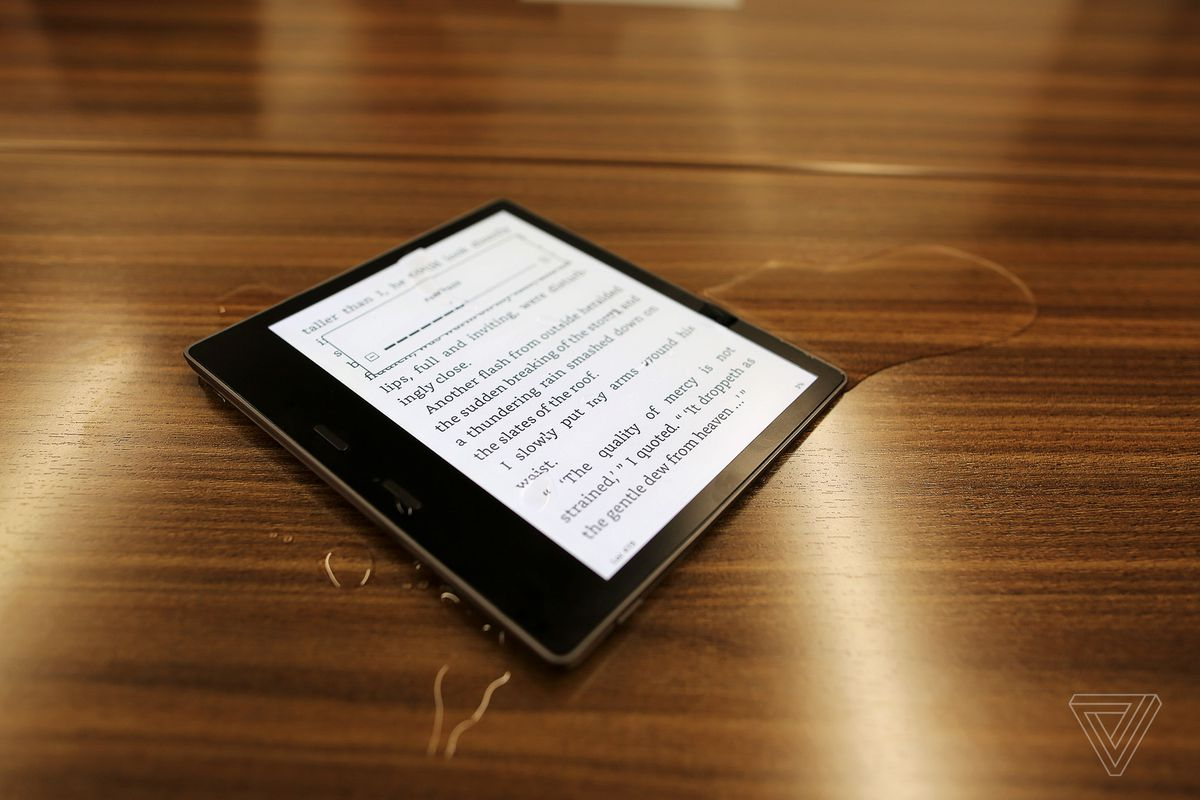 Amazon's New Kindle Oasis E-Reader Is Waterproof, Supports Audible Audiobooks