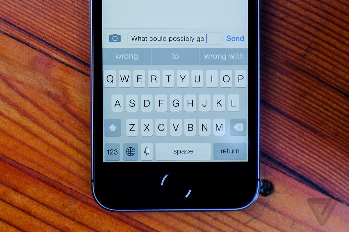 iOS is still keeping other keyboards from greatness - The Verge