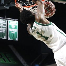 Tim Bond for the dunk.<br>