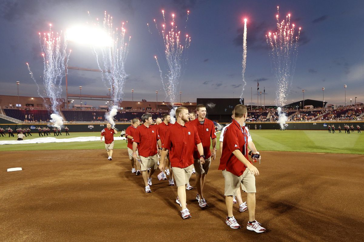 Opening Ceremonies at College World Series