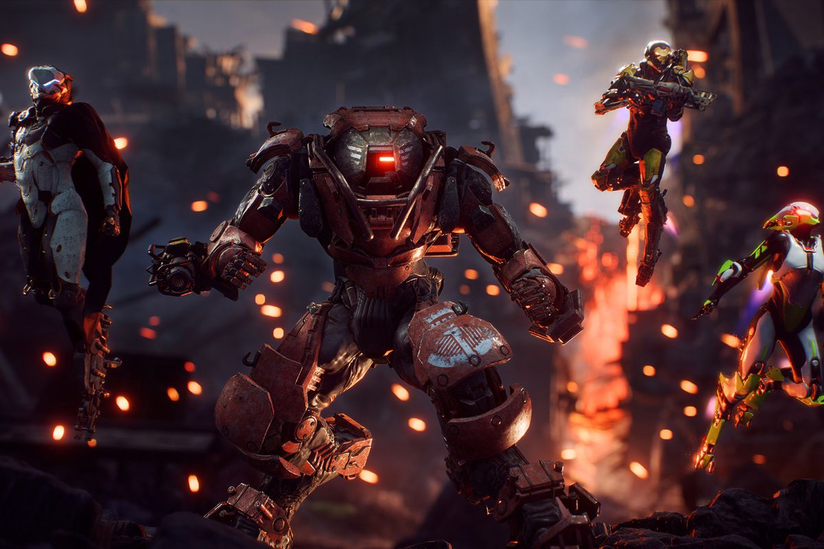 Anthem: The four classes of Javelin