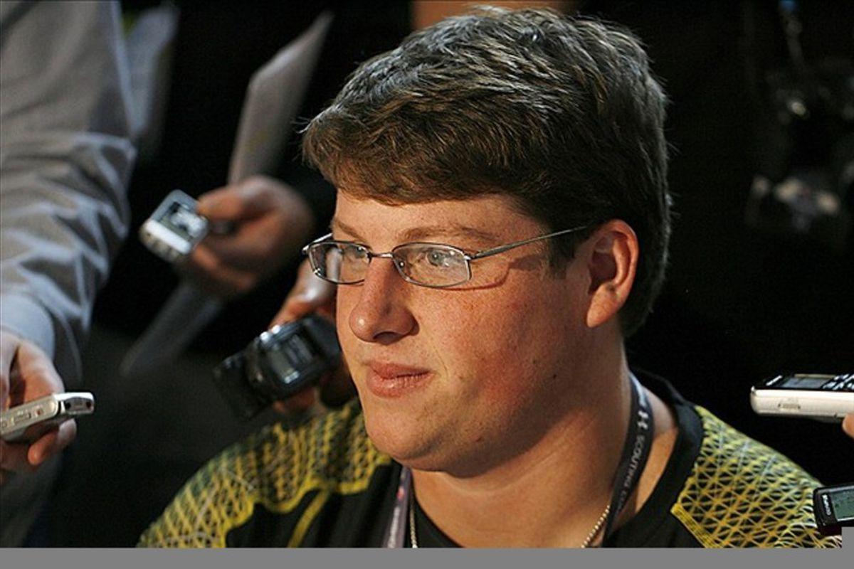 Georgia center Ben Jones has visited with the Jets. Brian Spurlock-US PRESSWIRE