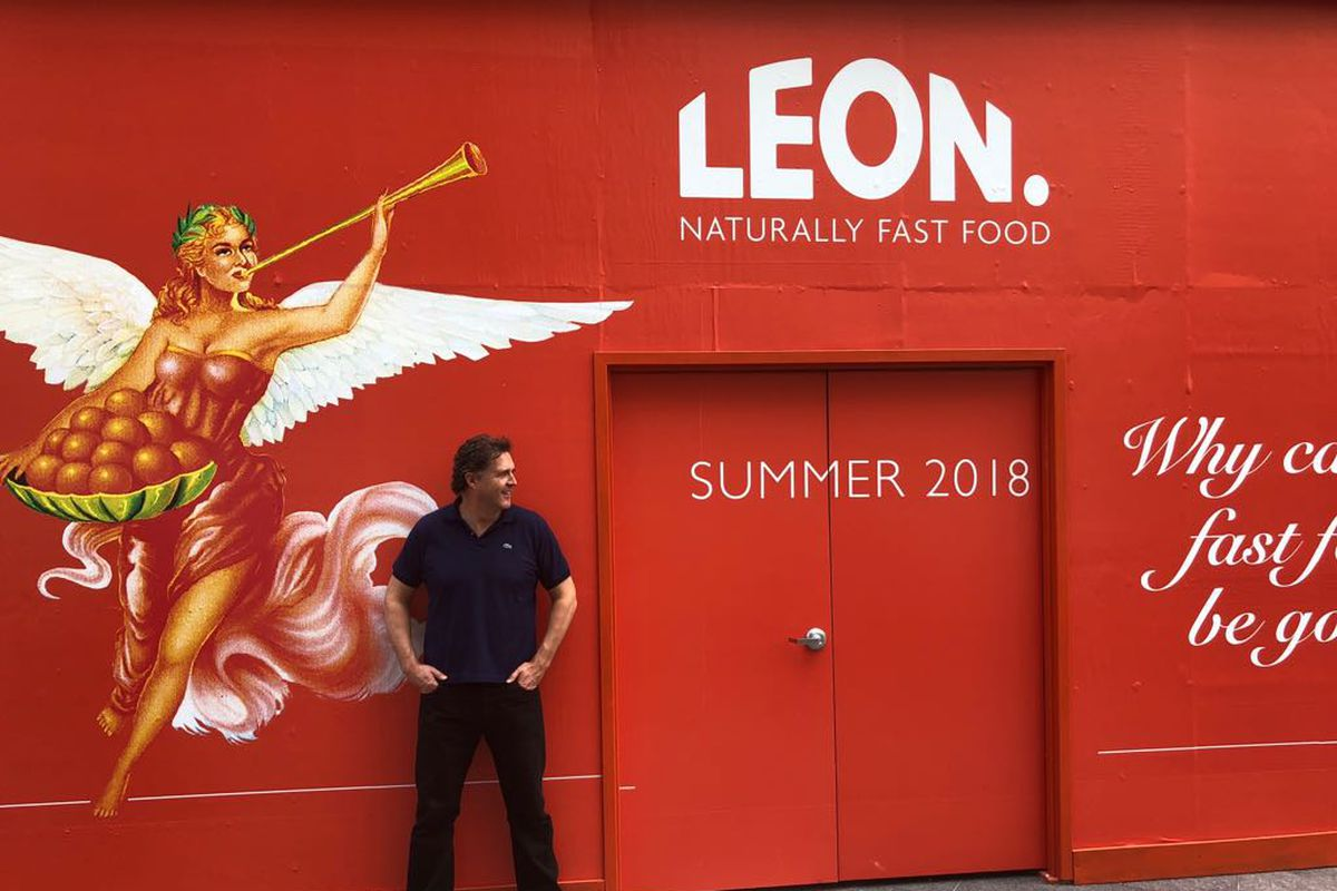 Leon fast food chain founder and CEO John Vincent in Washington DC, where the chain will launch its first overseas restaurant