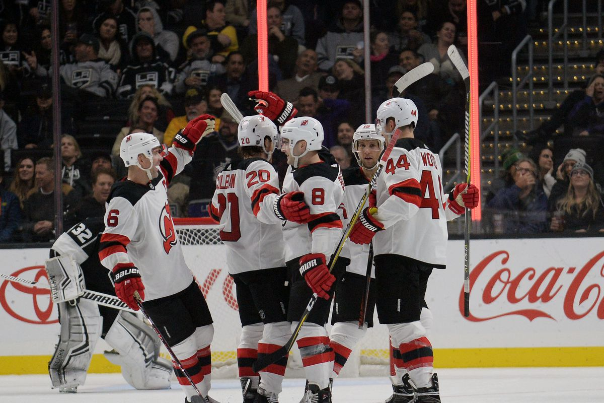 New Jersey Devils Finally Win in a 6-3 Triumph Over Los Angeles Kings e0ca2d3d0