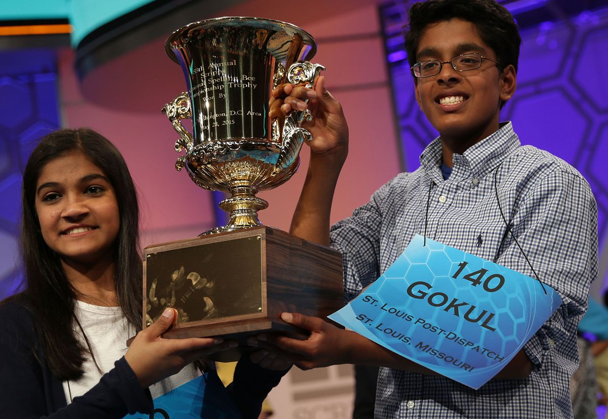 Champion Spellers Compete In Scripps National Spelling Bee