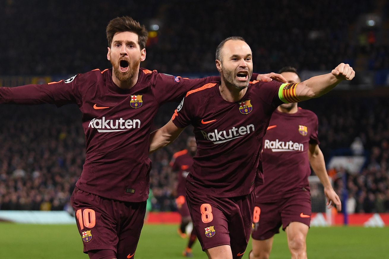 Iniesta: ?I Could Decide to Leave?