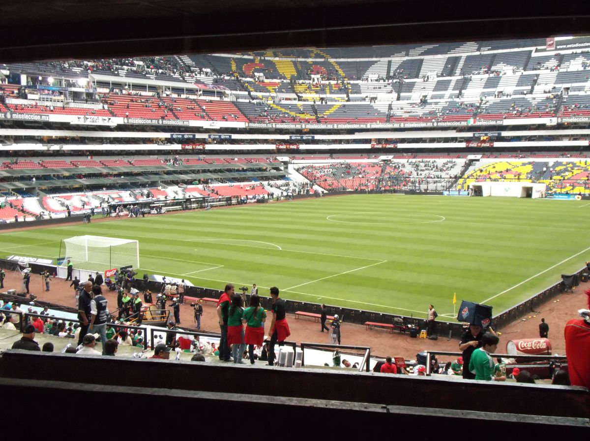 Estadio Azteca in Mexico City is one of the most historic stadiums in the entire world.
