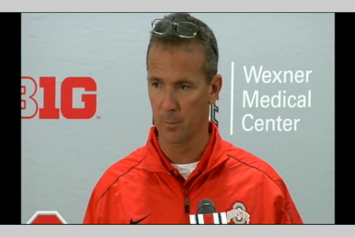 Urban Meyer addressed the media Monday for the lead up to next Saturday's game against the Central Florida Knights.