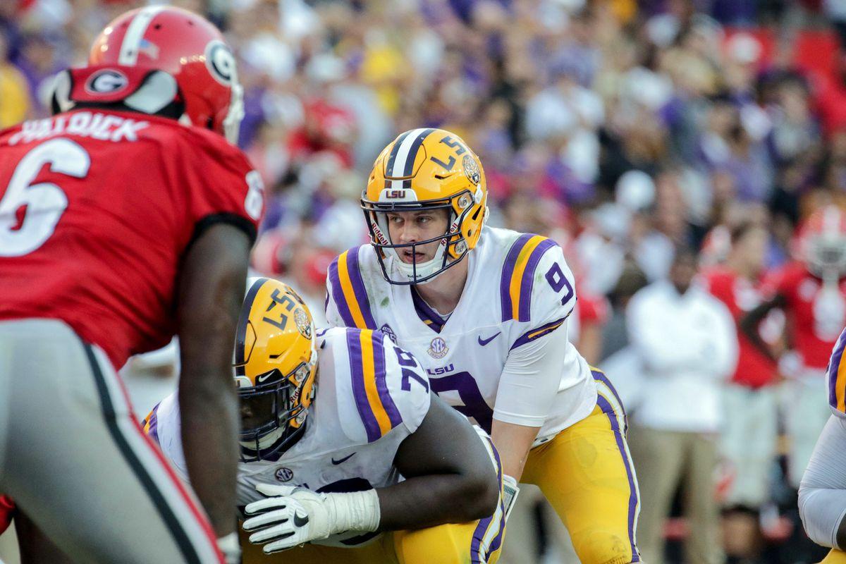 NCAA Football: Georgia at Louisiana State