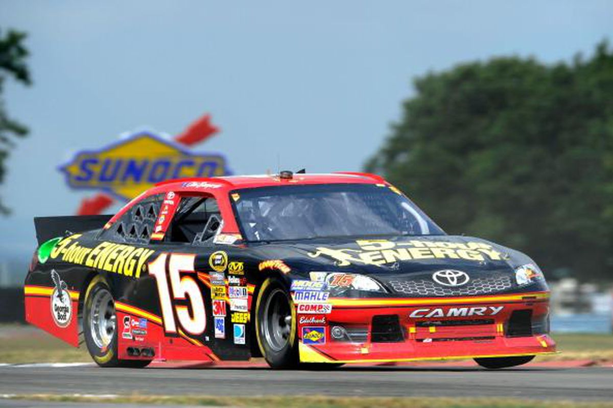 NASCAR driver Clint Bowyer of Emporia, Kan.