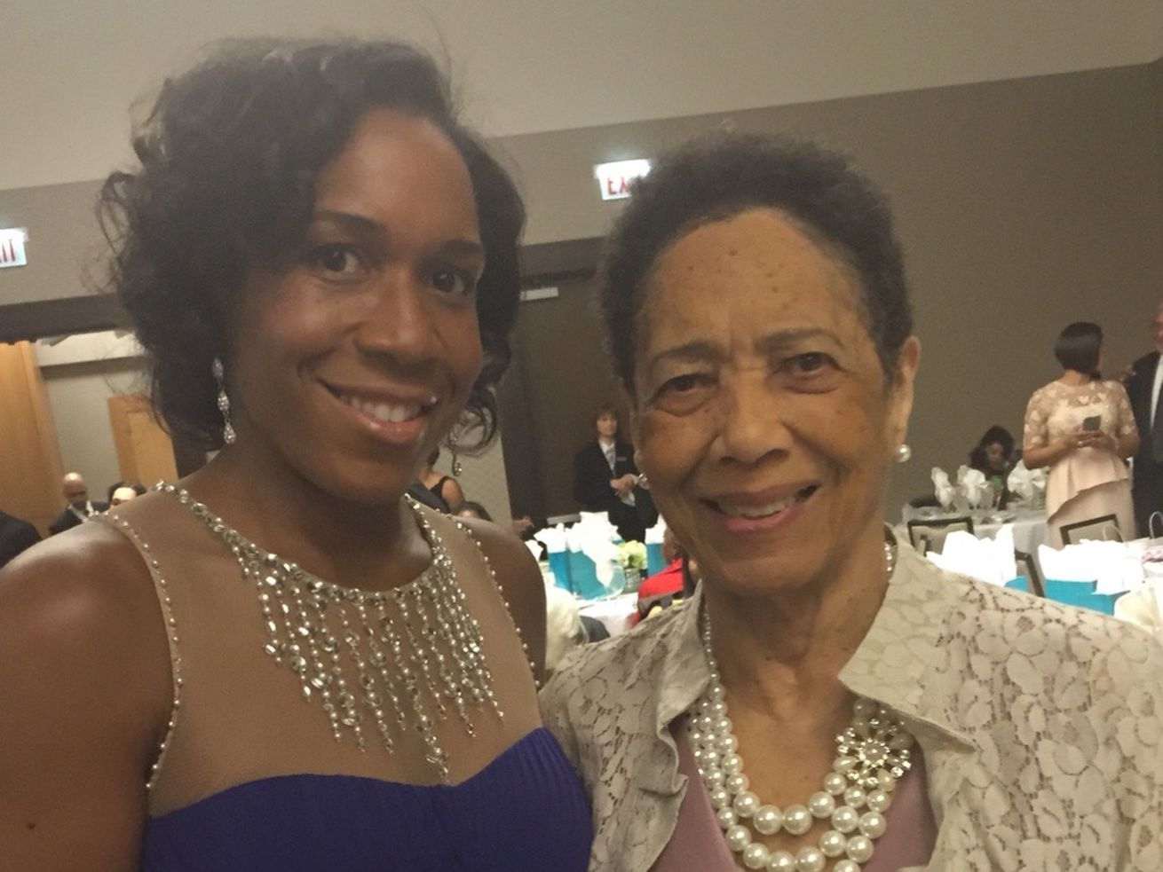Lt. Gov. Julianna Stratton and her mother, Velma Wiggins, who died in 2016 of Alzheimer's disease undiagnosed until three years before her death. It led Stratton to partner with the Alzheimer's Association on a pioneering bill now on Gov. J.B. Pritzker's desk: Illinois would be the first state to require health care professionals get training on diagnosis, treatment and care of Alzheimer's.