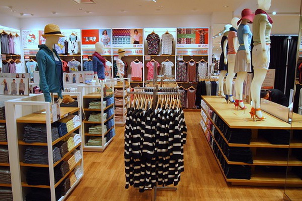"""Uniqlo's KOP Mall store <a href=""""http://philly.racked.com/archives/2014/05/15/interview-with-uniqlo-us-ceo-larry-meyer-about-king-of-prussia-mall-pa-store-openings.php"""">opened</a> May 2014."""
