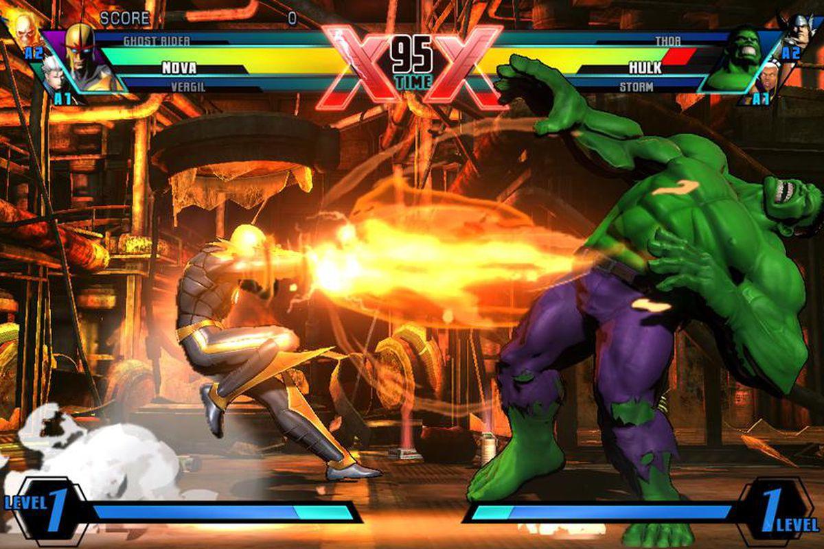ultimate marvel vs. capcom 3 nova