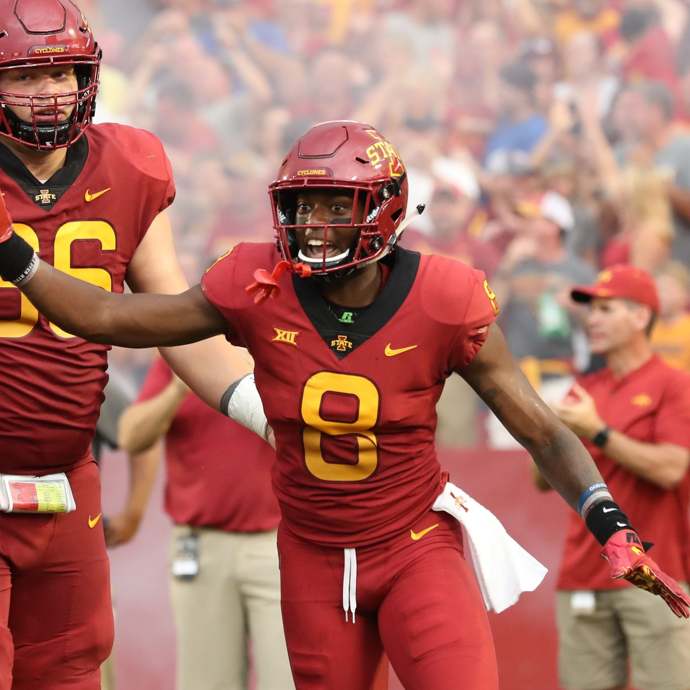 2019 Iowa State Football Position Previews Wide Receivers Wide Right Natty Lite