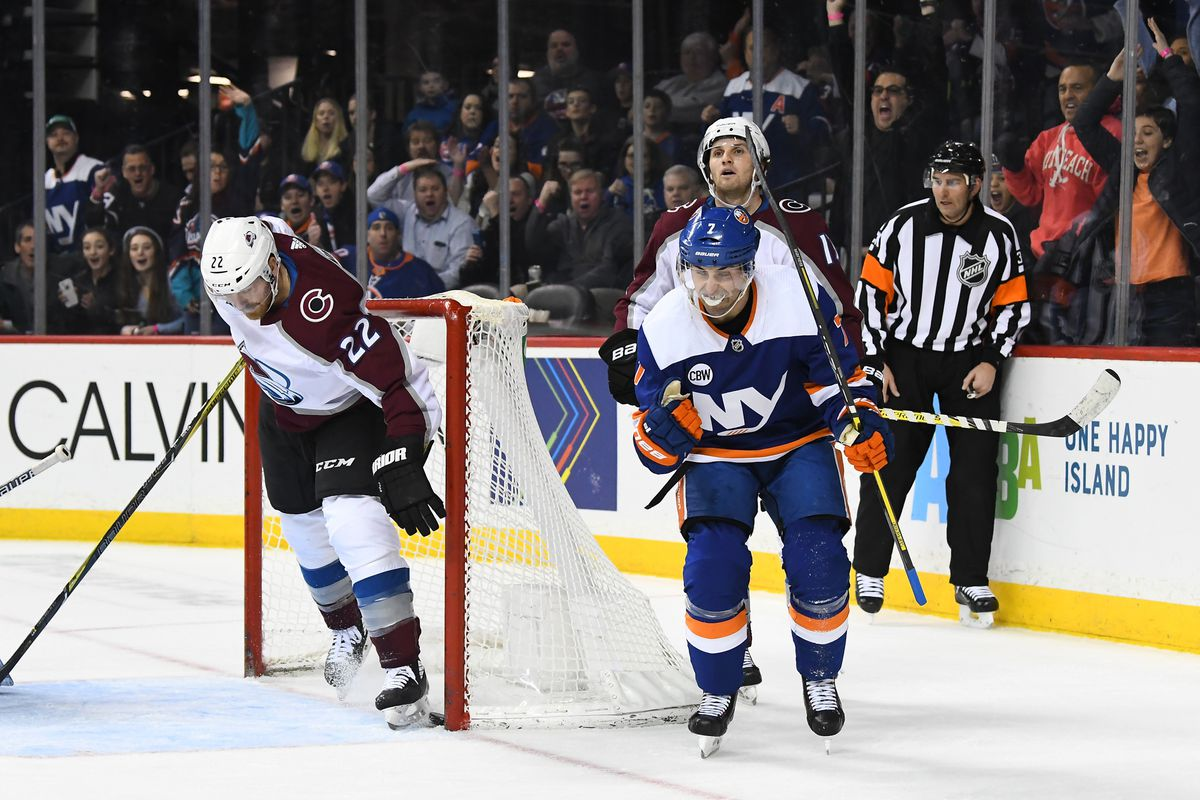 8d88a445a77 The Avalanche Lose Again in Overtime 4-3 Against the New York Islanders -  Mile High Hockey