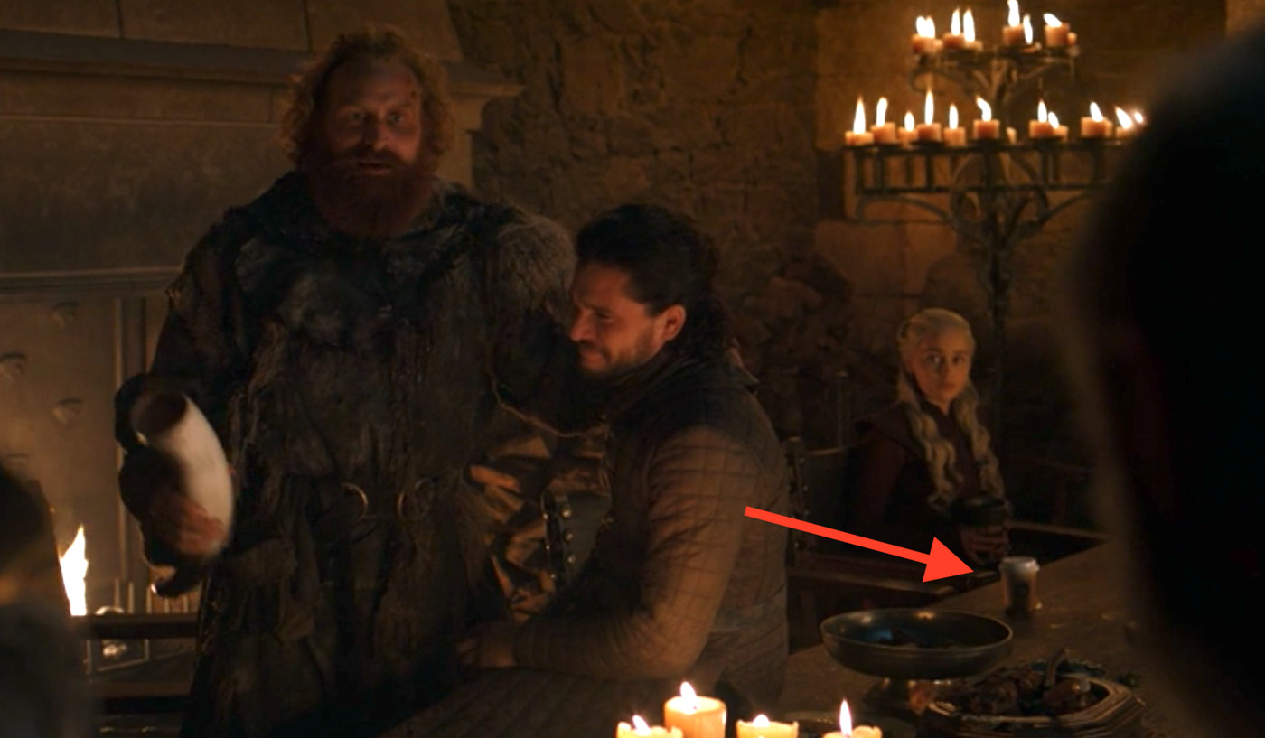 A Starbucks cup showed up in Game of Thrones right after a major cameo -  Polygon