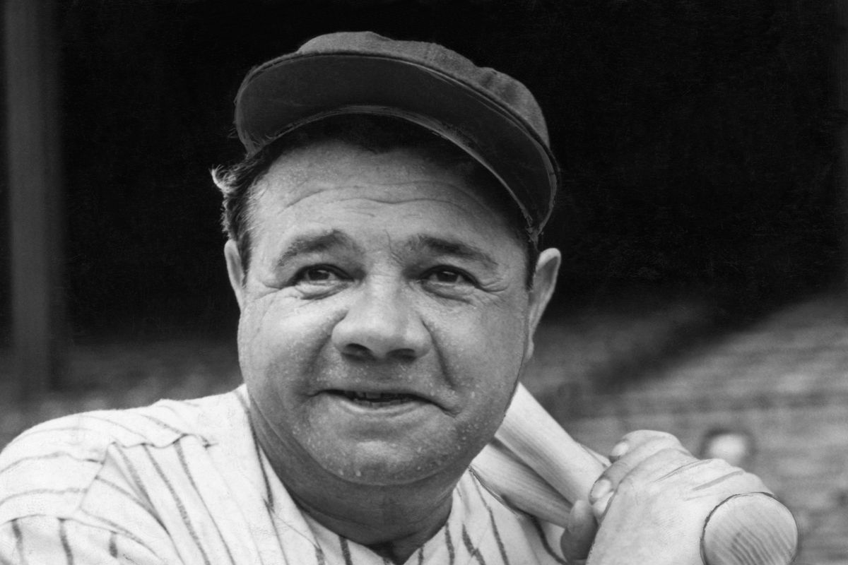 New York Yankee Babe Ruth