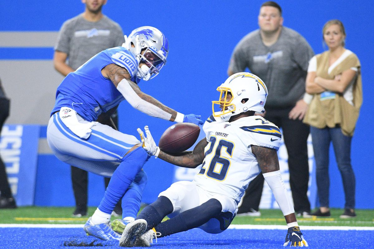 NFL: Los Angeles Chargers at Detroit Lions
