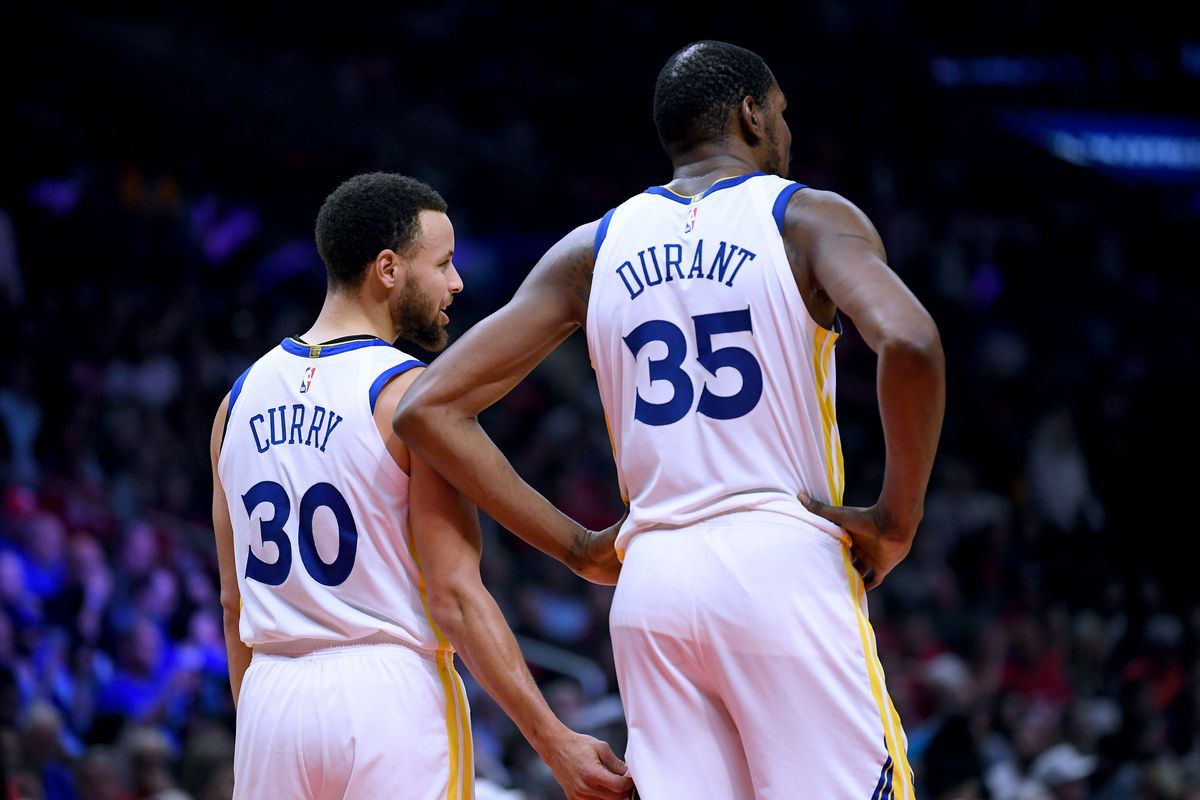 """6b889bc4c474 Steph Curry on Kevin Durant s absence  """"I didn t wake up today with extra  weight on my shoulders"""""""