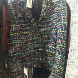 Jacket, $100