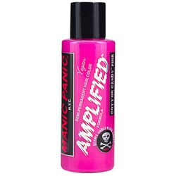"""<b>Manic Panic</b> Amplified Semi-Permanent Hair Dye in hot hot pink, <a href=""""http://www.rickysnyc.com/hair-products/hair-color/semi-demi/manic-panic-amplified-semi-permanent-hair-color-4-oz.html"""">$15.49</a> at Ricky's NYC"""