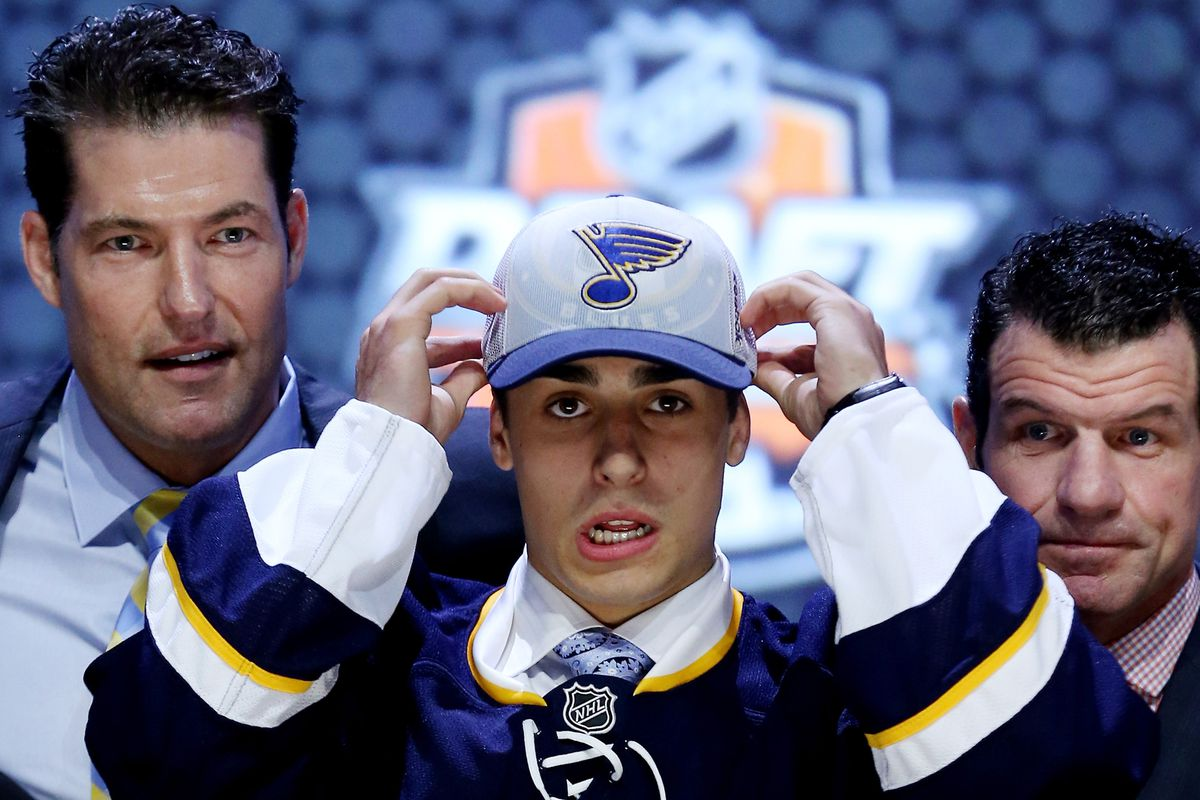 2014 first-round pick Robbie Fabbri is just one of the Blues' prospects who will be attending Development Camp this coming week.
