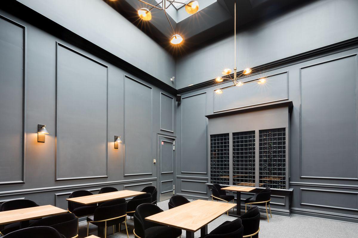 Restaurant Nisei's private dining room