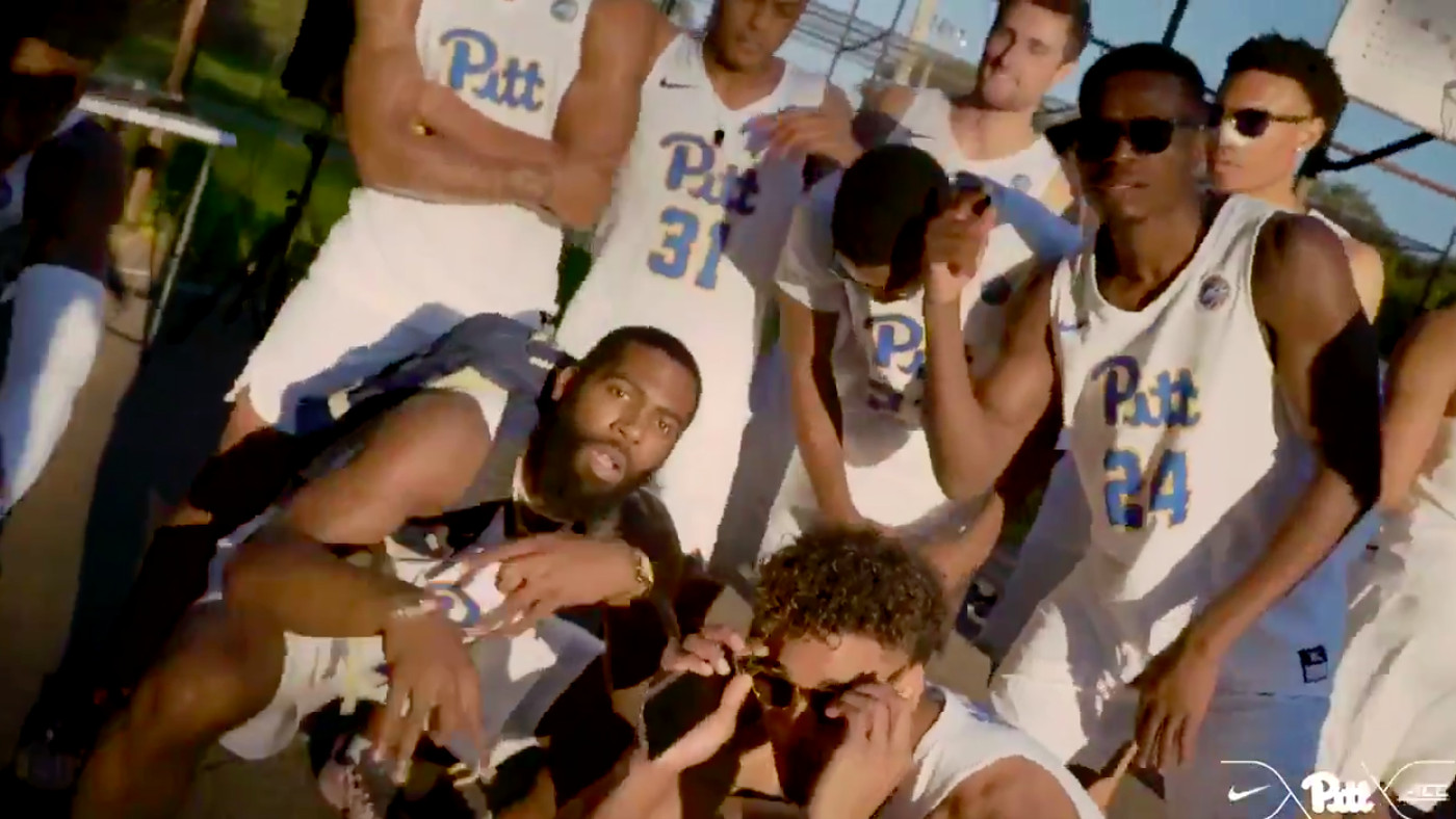sports shoes 398b2 232fa Pitt basketball made a tribute video for Mac Miller and it's ...