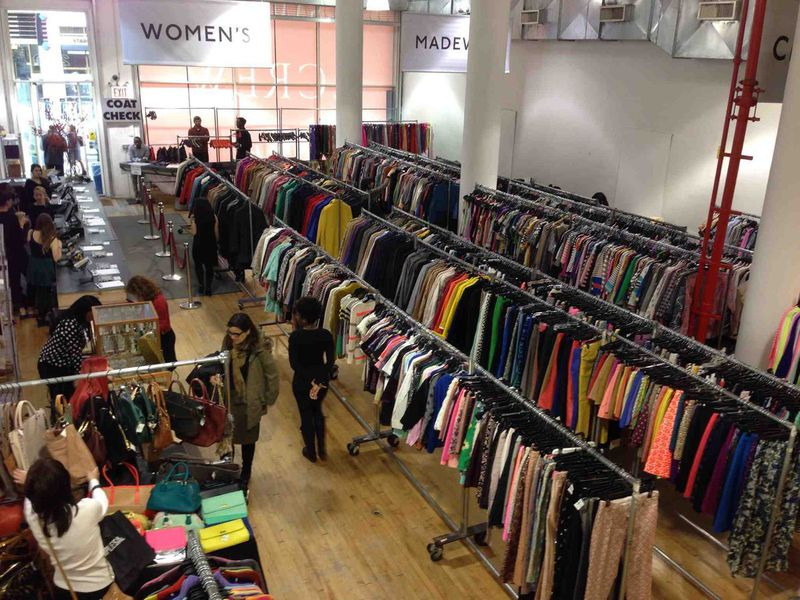 Inside the J.Crew Women's, Kid's, and Madewell Sample Sale - Racked NY