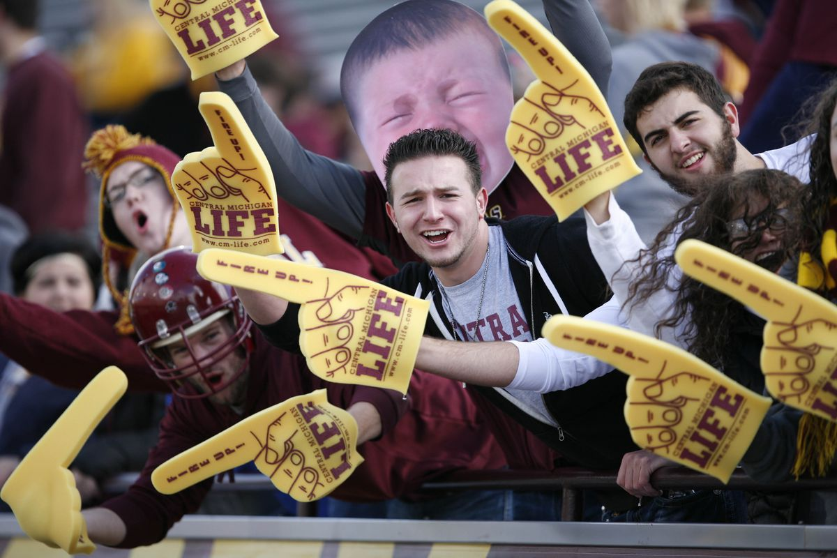 Looks like Pauly from Jersey Shore enjoyed himself at the Central game on Saturday.