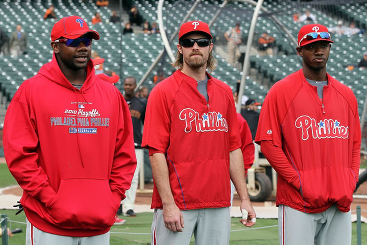 One of these guys reached base five times today.  (Photo by Justin Sullivan/Getty Images)
