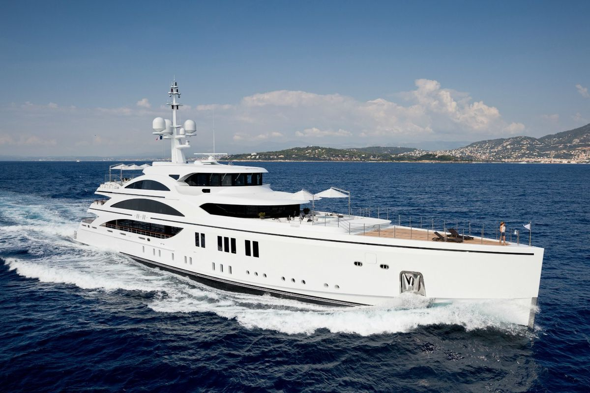 The 206 Foot 11 Superyacht Courtesy Of Yachts Miami Beach