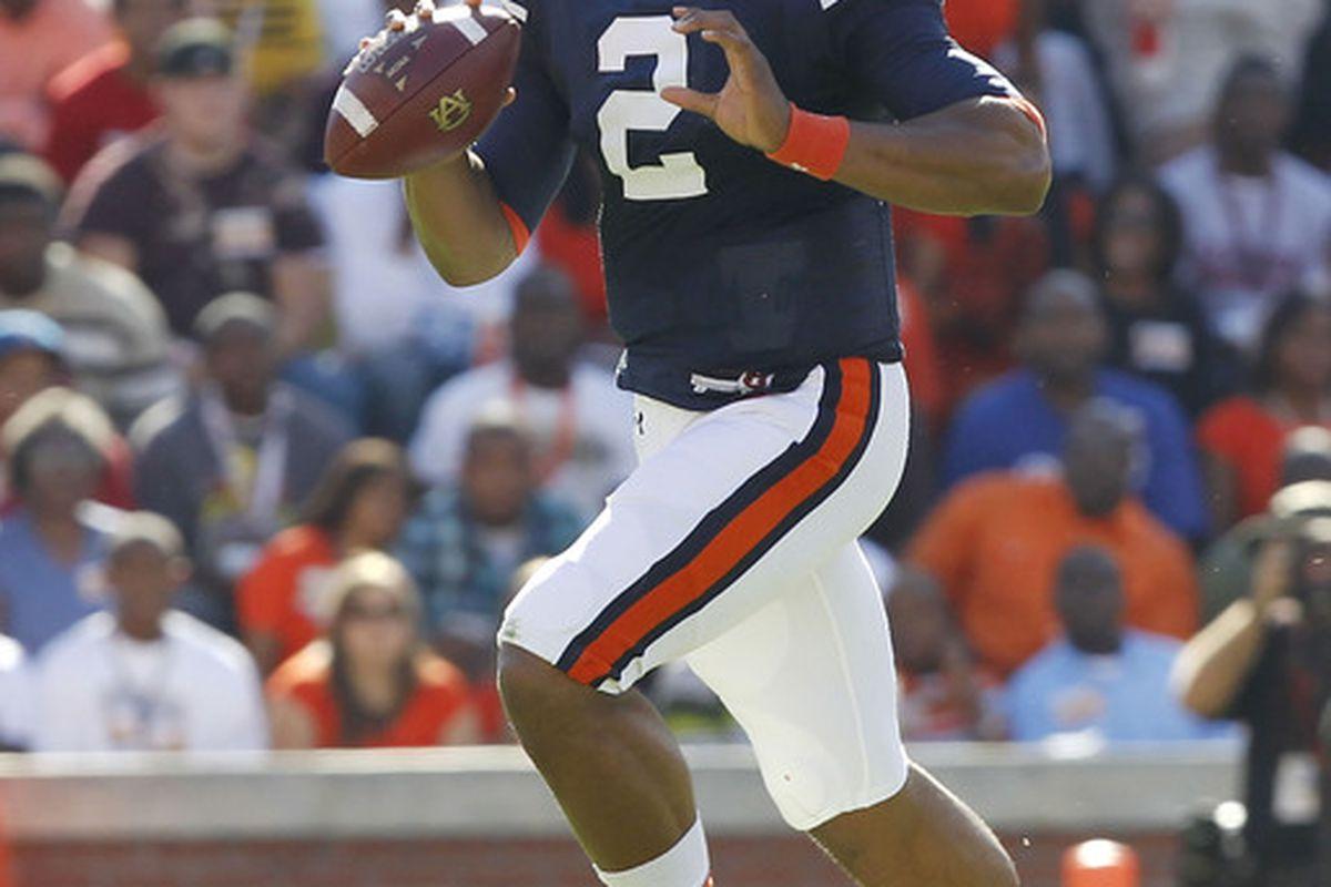 Auburn's Cam Newton is now firmly the leader in the Heisman Trophy race.