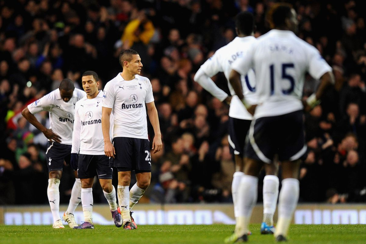 Jake Livermore was one of the few Tottenham players who put in a good performance against United.