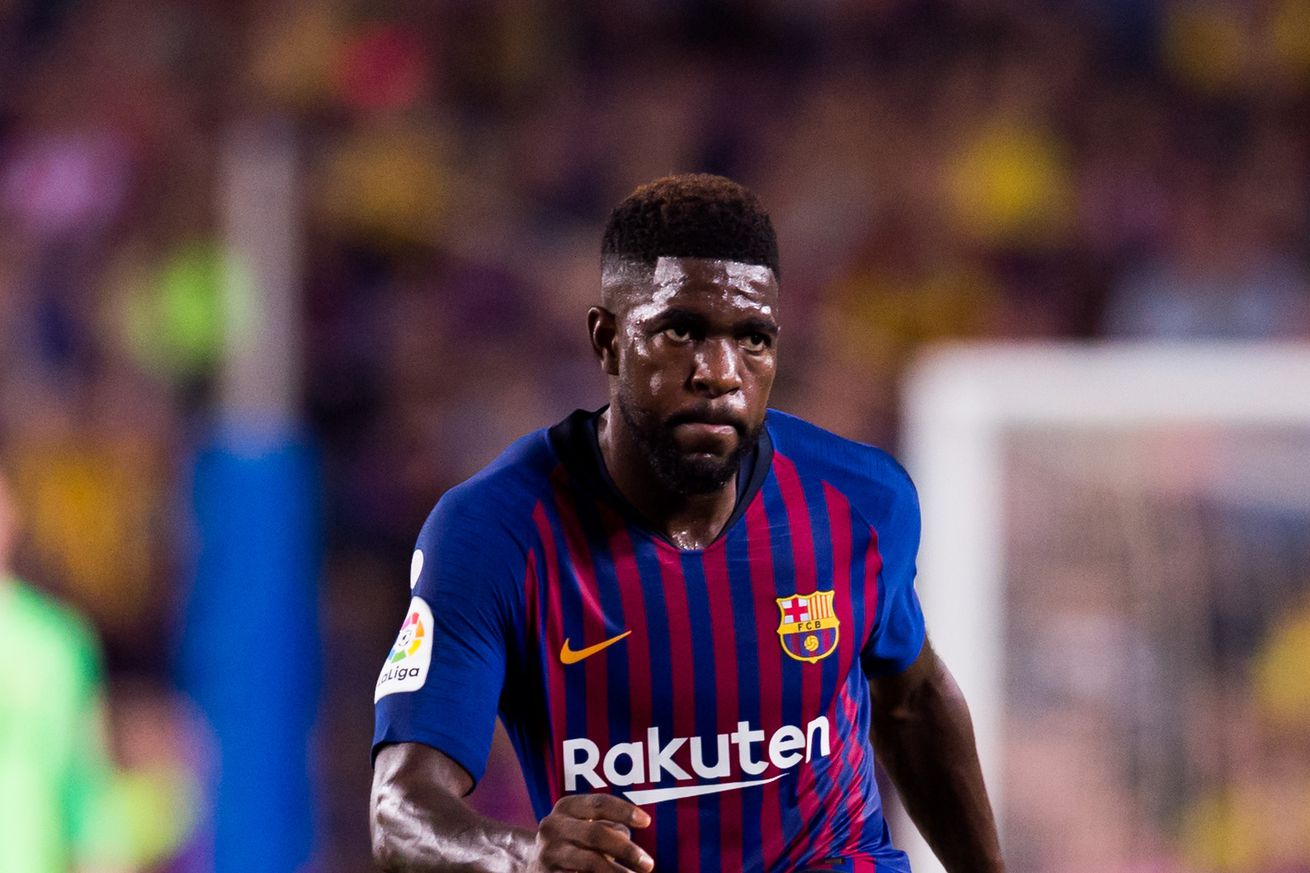 Samuel Umtiti?s Starting Spot Isn?t Automatic