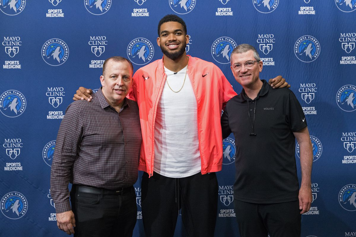Karl-Anthony Towns Signs Contract Extension