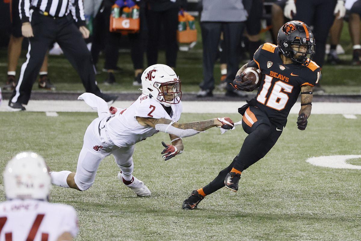 NCAA Football: Washington State at Oregon State