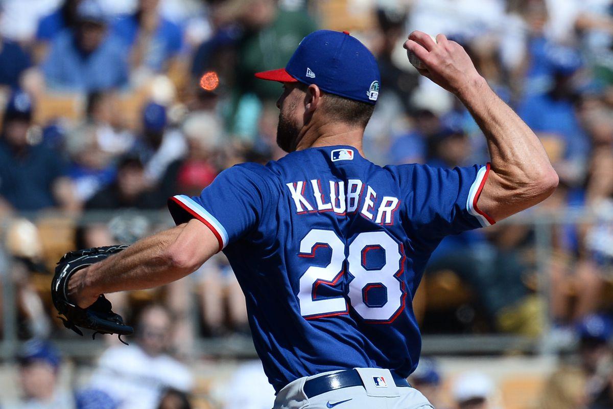MLB: Spring Training-Texas Rangers at Los Angeles Dodgers