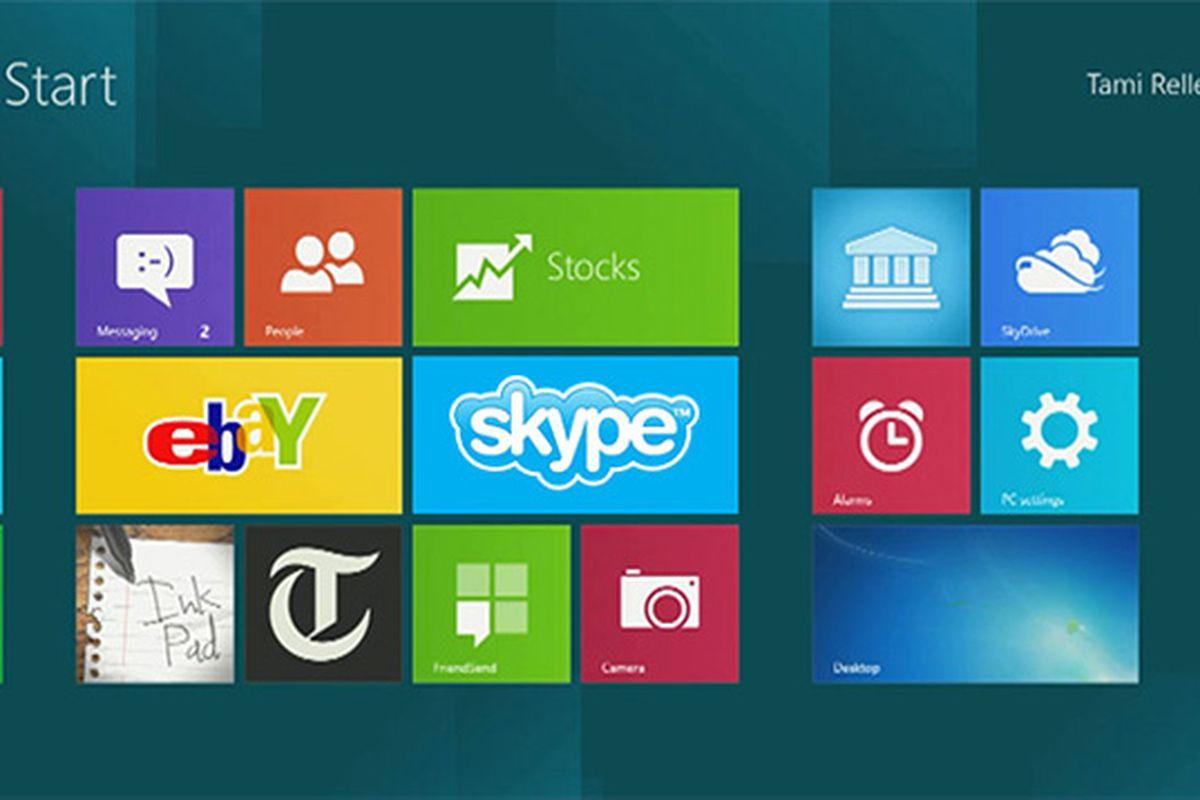 Skype Windows 8
