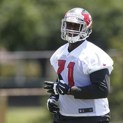 Kadeem Edwards was the Buccaneers' first fifth-round pick in the 2014 NFL draft.