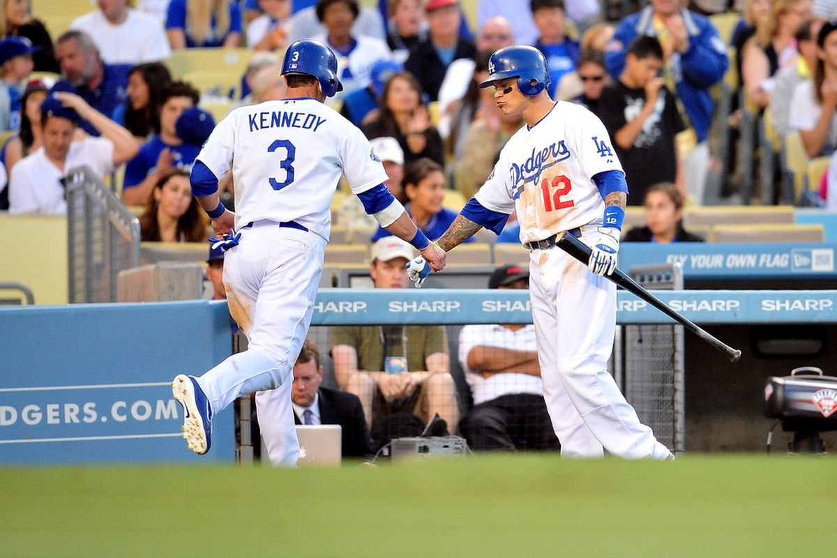 Both these guys rehabbed with the Quakes on Wednesday
