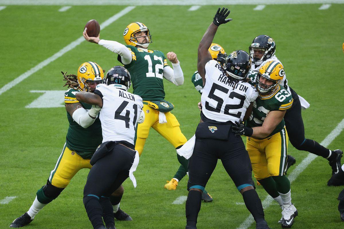 Jacksonville Jaguars v Green Bay Packers
