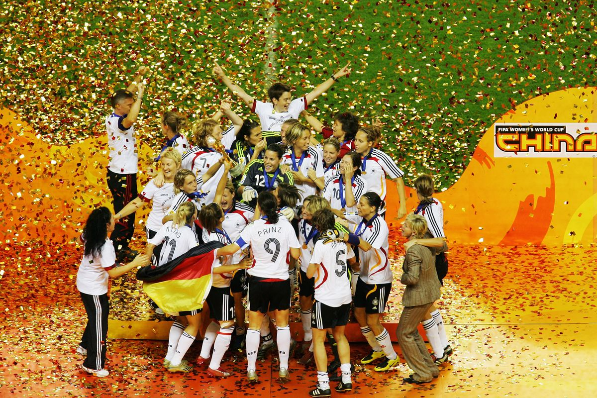 Brazil v Germany - Womens World Cup 2007 Final