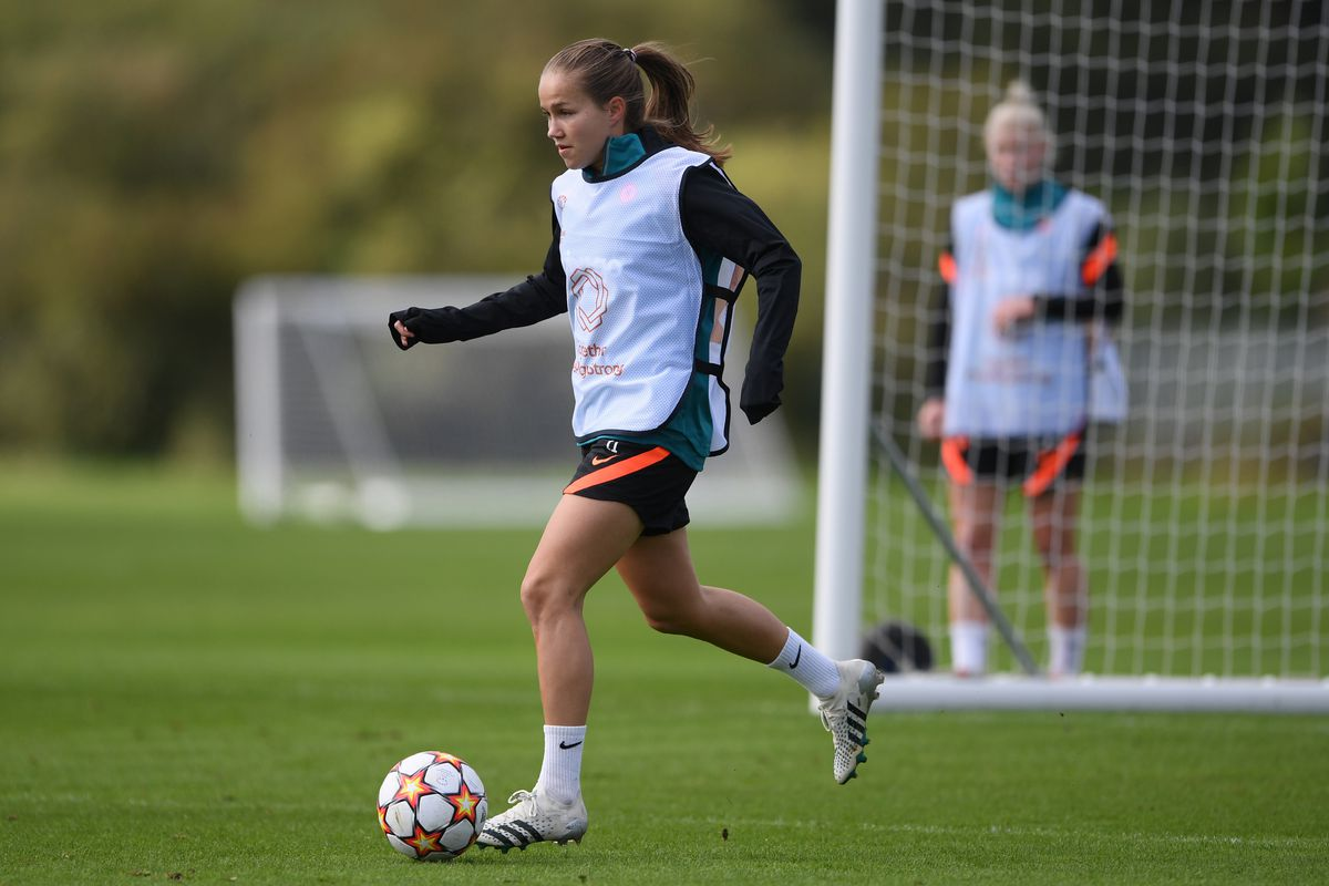 Chelsea Women Training Session & Press Conference