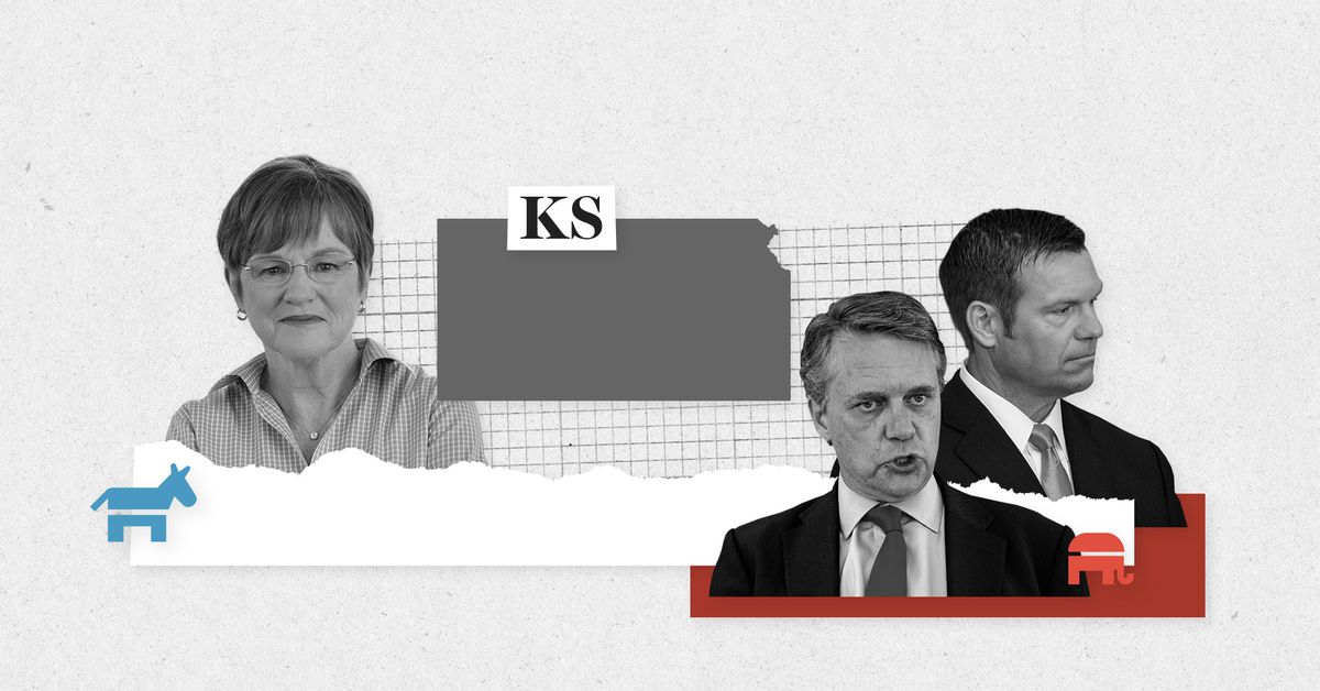 Live results for the Kansas primary elections