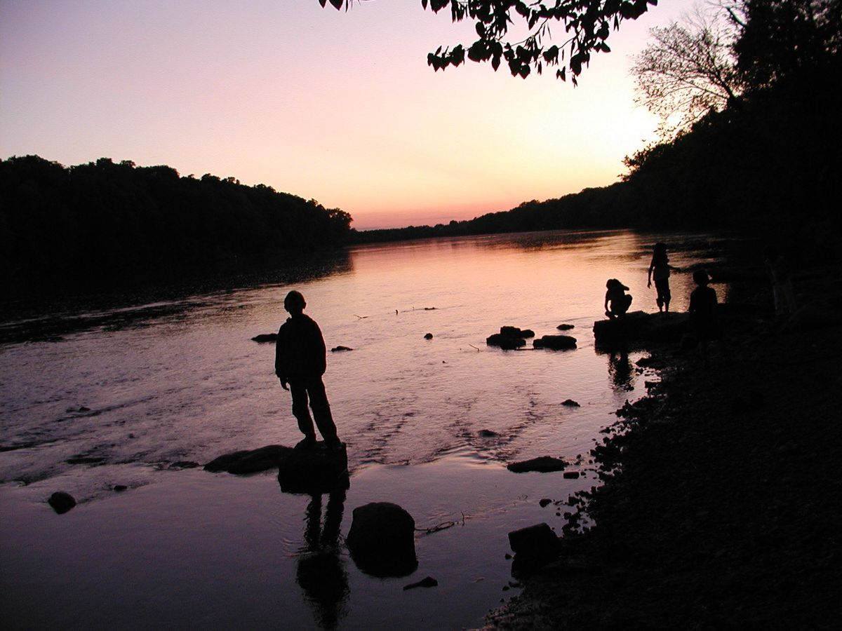 Kankakee River State Park is a place to get away and consider life, either on the water or land. Credit: Dale Bowman