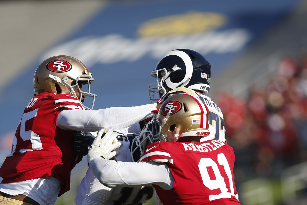 Nfl Week 16 Live Rams Vs 49ers Battle Red Blog
