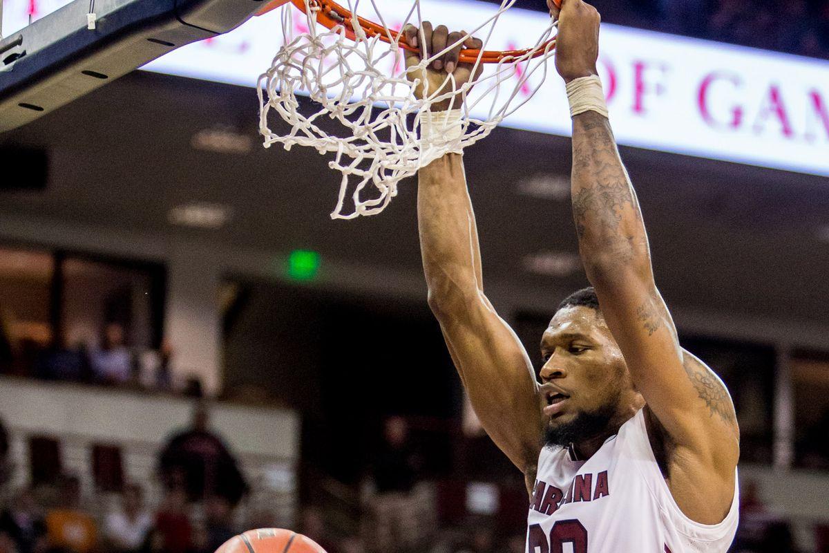 NCAA Basketball: Virginia at South Carolina