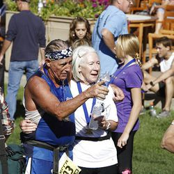 XTERRA Trail Running National Championship Half Marathon race  Sunday, Sept. 25, 2011, in Snowbasin, Utah.