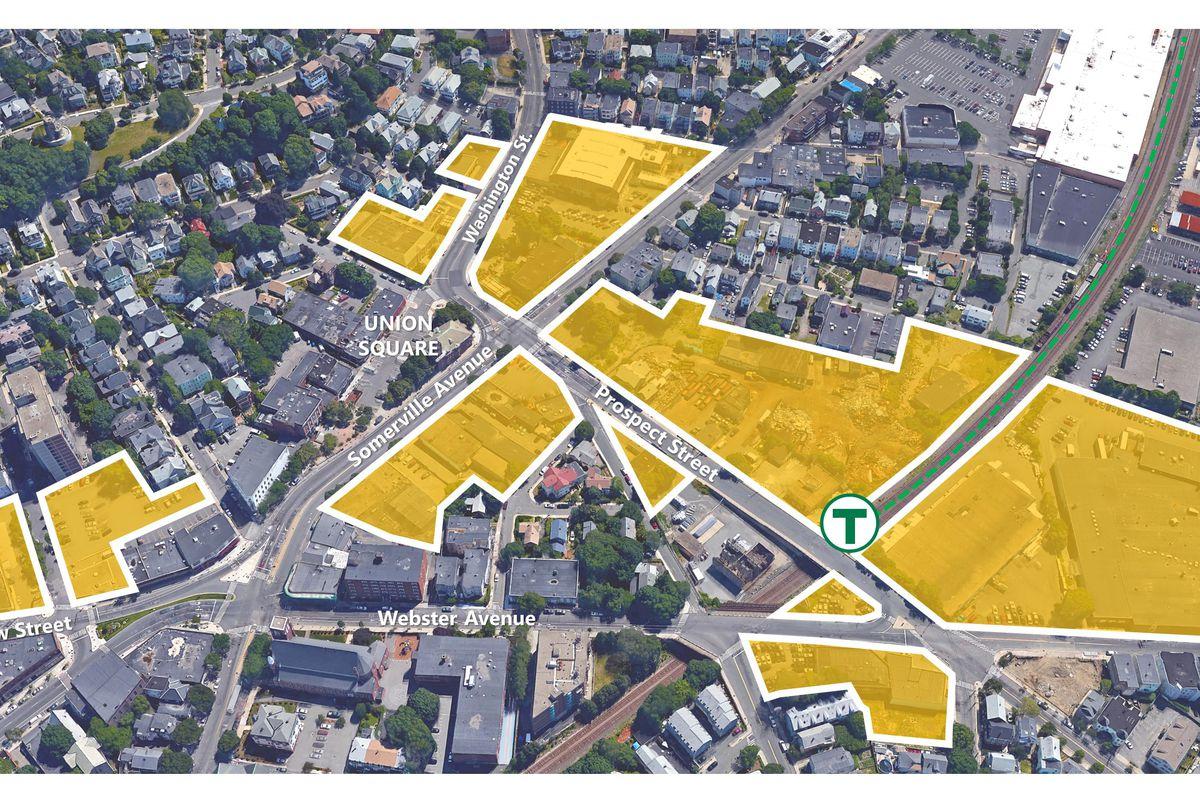 A rendering of Union Square Boston.